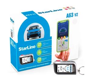 Автосигнализация StarLine A63 V2