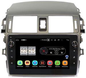 Штатная магнитола LeTrun BPX609-9061 для Toyota Corolla X 2006-2013 на Android 10 (4/64, DSP, IPS, с голосовым ассистентом, с крутилками)