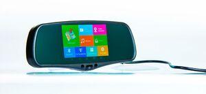 Автомобильный видеорегистратор c GPS навигатором и радаром Multi Arena Pro 9900