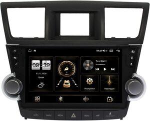 Штатная магнитола Toyota Highlander 2 (2007-2013) для авто без усилителя (Тип3) LeTrun 4165-10-1180 на Android 10 (4G-SIM, 3/32, DSP, QLed)