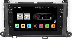 Штатная магнитола Toyota Sienna III 2010-2014 LeTrun BPX609-202 на Android 10 (4/64, DSP, IPS, с голосовым ассистентом, с крутилками)