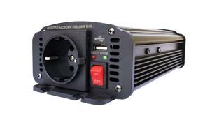 Преобразователь напряжения AcmePower AP-DS600/12 (10-15В > 220В, 600Вт,USB)