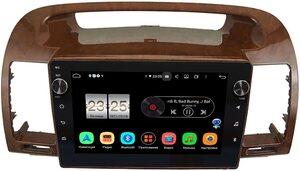 Штатная магнитола Toyota Camry V30 2001-2006 (под дерево) LeTrun BPX609-961 на Android 10 (4/64, DSP, IPS, с голосовым ассистентом, с крутилками)