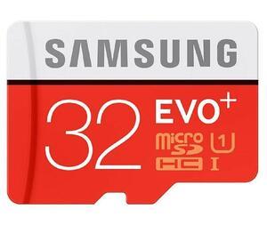 Карта памяти Samsung microSDHC EVO Plus 32Gb UHS-1 20-95MBs