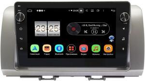 Штатная магнитола LeTrun BPX409-396 для Toyota bB II 2005-2016 на Android 10 (4/32, DSP, IPS, с голосовым ассистентом, с крутилками)