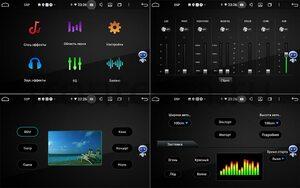 Штатная магнитола LeTrun BPX609-830 для Changan Eado 2013-2018 на Android 10 (4/64, DSP, IPS, с голосовым ассистентом, с крутилками)