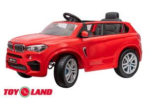 Детский автомобиль Toyland BMW X5M красный