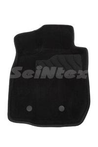 Ворсовые 3D коврики в салон Seintex для Nissan Terrano III 2014-2015 (черные)
