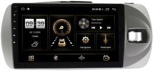 Штатная магнитола LeTrun 4166-9-772 для Toyota Vitz III (XP130) 2014-2019 на Android 10 (4G-SIM, 3/32, DSP, QLed)