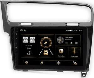 Штатная магнитола LeTrun 4165-10-469 для Volkswagen Golf 7 2012-2020 на Android 10 (4G-SIM, 3/32, DSP, QLed)