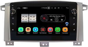 Штатная магнитола Toyota Land Cruiser 105 2002-2008 LeTrun BPX609-9121 на Android 10 (4/64, DSP, IPS, с голосовым ассистентом, с крутилками) (для авто с МКПП)