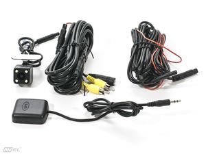 Штатный двухканальный автомобильный Ultra HD (1296P) видеорегистратор с GPS AVS400DVR (#107) для JAGUAR/ LAND ROVER