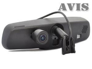 Зеркало заднего вида со встроенным видеорегистратором и автозатемнением монитора AVEL AVS0488DVR