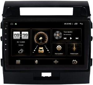 Штатная магнитола Toyota LC 200 2007-2015 для авто с усилителем LeTrun 4165-1006 на Android 10 (4G-SIM, 3/32, DSP, QLed)