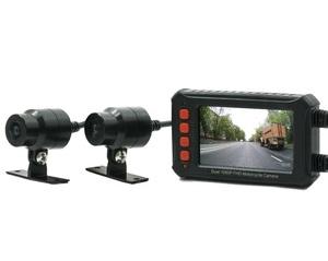 Двухканальный видеорегистратор AVS540DVR для мотоцикла / квадроцикла / снегохода (Full HD 1080P)