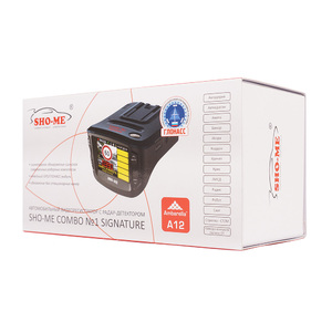 Sho-Me Combo №1 A12 SIGNATURE с GPS/ГЛОНАСС модулем