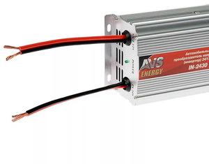 Автомобильный инвертор AVS IN-2430 (24>12В, 30А, 360Вт)
