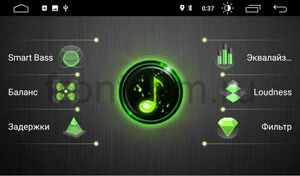 Штатная магнитола Toyota Camry V50 2011-2014 LeTrun 3149-10-169 Android 10 (DSP 2/16 с крутилками) (для авто без камеры)