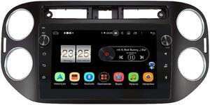 Штатная магнитола Volkswagen Tiguan 2011-2016 LeTrun BPX409-1042 на Android 10 (4/32, DSP, IPS, с голосовым ассистентом, с крутилками)