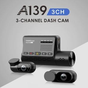 Viofo A139 - видеорегистратор с 3-мя камерами и GPS!