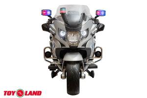 Детский мотоцикл Toyland BMW R 1200RT-P Серебро