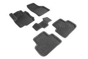 Коврики EVA 3D ромб Seintex для Volkswagen Tiguan II 2017-н.в. (черные, 95198)
