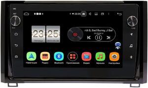 Штатная магнитола Toyota Tundra II 2013-2018 LeTrun BPX409-9233 на Android 10 (4/32, DSP, IPS, с голосовым ассистентом, с крутилками)