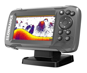 Эхолот-плоттер Lowrance HOOK2-4x with Bullet Transducer and GPS Plotter