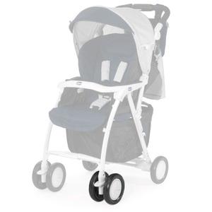 Сдвоенное колесо для коляски Chicco Simplicity, белое