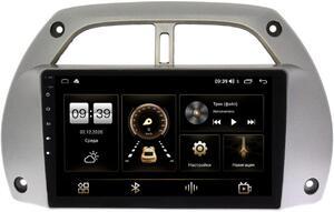 Штатная магнитола LeTrun 4166-9-262 для Toyota RAV4 (XA20) 2000-2005 на Android 10 (4G-SIM, 3/32, DSP, QLed)
