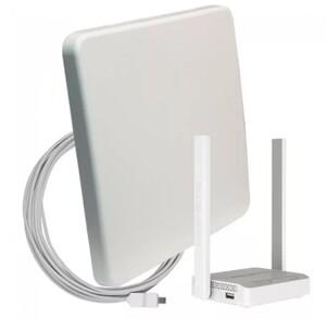Комплект для мобильного интернета WiFi 3G/4G DS-Link DS-4G-18M L-3  (Антенна MIMO 18дБ, USB кабель 10м, роутер Wi-Fi 2.4ГГц)