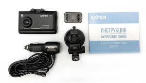 Гибридный видеорегистратор AXPER Combo Hybrid 2K