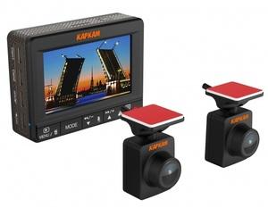 Видеорегистратор с двумя выносными камерами Каркам Дуо