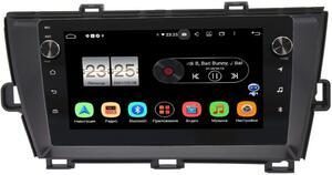 Штатная магнитола LeTrun BPX409-9210 для Toyota Prius III (XW30) 2009-2015 (левый руль) на Android 10 (4/32, DSP, IPS, с голосовым ассистентом, с крутилками)