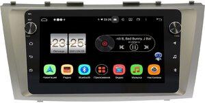 Штатная магнитола Toyota Camry V40 2006-2011 LeTrun BPX409-9037 на Android 10 (4/32, DSP, IPS, с голосовым ассистентом, с крутилками)