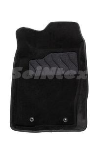 Ворсовые 3D коврики в салон Seintex для Ssang Yong Kyron 2011-н.в. (черные)