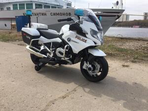 Детский мотоцикл Toyland BMW R 1200RT-P Белый