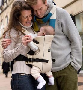 Рюкзак-переноска для детей Clippasafe Carramio, бежевый