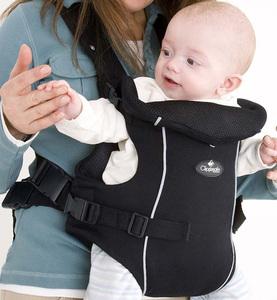 Рюкзак-переноска для детей Clippasafe Carramio, черный
