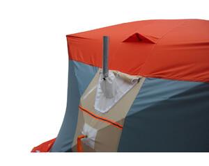 Палатка рыбака Митек Нельма Куб 3 Люкс (оранж-беж/сероголубой)