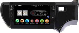 Штатная магнитола LeTrun BPX409-9205 для Toyota Aqua 2011-2020 на Android 10 (4/32, DSP, IPS, с голосовым ассистентом, с крутилками)