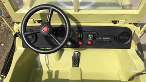 Детский автомобиль Toyland Jeep Willys YKE 4137 Matcha