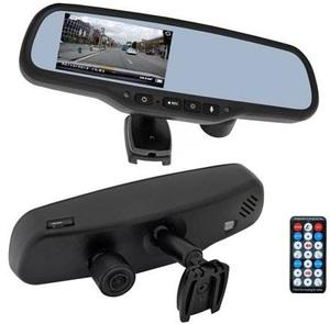 Зеркало заднего вида со встроенным монитором Incar VDR-VW-16