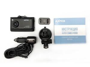 Гибридный видеорегистратор AXPER Combo Hybrid 2K WiFi