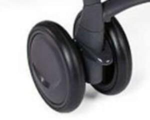 Сдвоенное колесо для коляски Chicco Simplicity, черное
