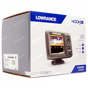 Lowrance Hook-5x Mid/High/DownScan