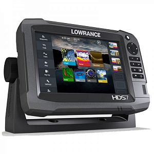 "Lowrance HDS-7 Gen3 ROW with StructureScan + HST-WSBL (000-11799-002 - 7"")"