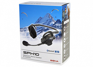 SENA SPH10 Bluetooth гарнитура для активного отдыха