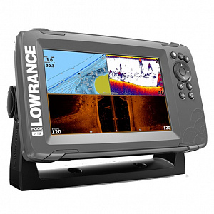 Lowrance HOOK2-7 with TripleShot US Coastal/ROW