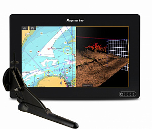 "Raymarine AXIOM 9 RV, Multi-function 9"" Display with integrated RealVision 3D, 600W Sonar with CPT-100DVS transducer"